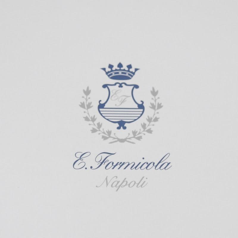 Errico Formicola オーダーシャツ完成報告