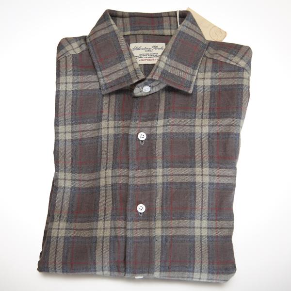 逆輸入の秋シャツ | Salvatore Piccolo