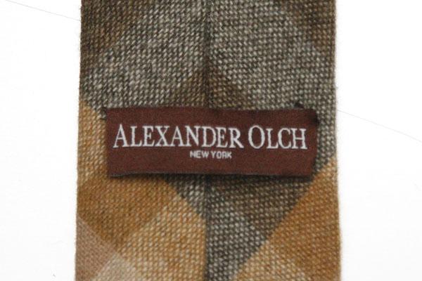 秋冬は小物で個性を(4)~巻きタイ熱は下がらない | Franco Minucci & Alexander Olch ウールタイ