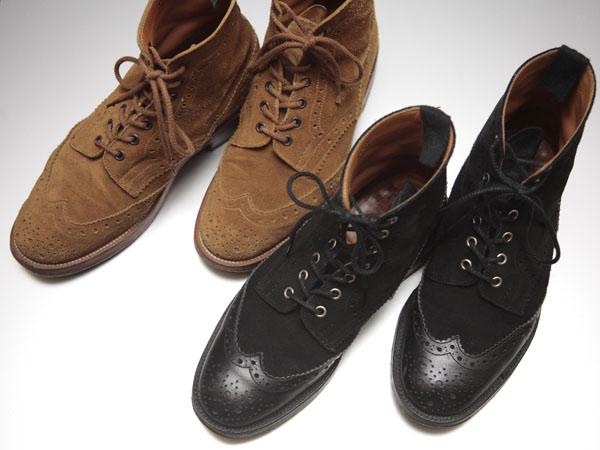革靴の選び方・使い分け(2)~『カジュアル寄りブーツ』 | Tricker's カントリーブーツ