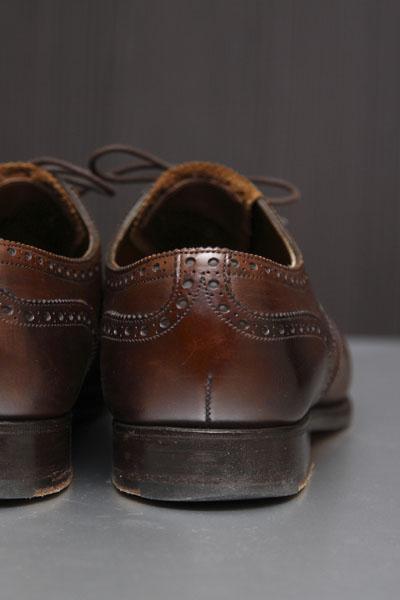革靴の選び方・使い分け(3)~『ブローグ』 | Edward Green Malvern