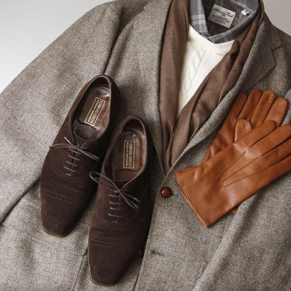 革靴の選び方・使い分け(4)~『スエード』 | Edward Green Asquith