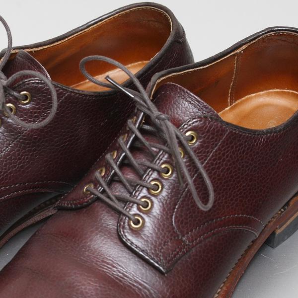 革靴の選び方・使い分け(5)~『ダービー』 | Alden プレーントウシューズ