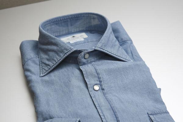 続・春はシャツの気分 | Giannetto シャンブレーワークシャツ