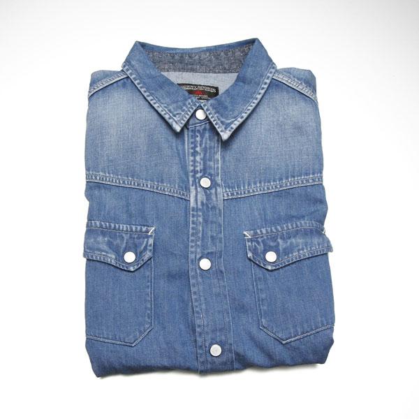 春、青き衣をまといて~続・春はシャツの気分(2) | Sunny Sports & Giannetto デニムシャツ