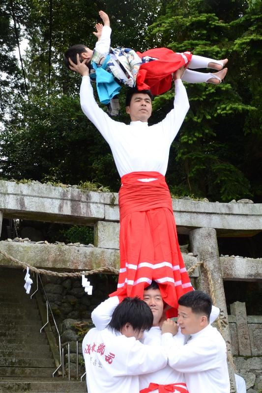今治春祭り 玉川地区 嶋御門神社