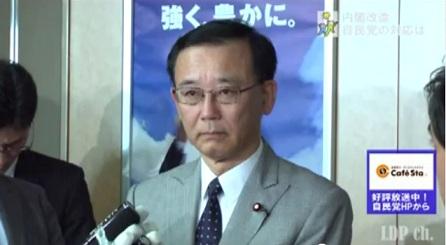 ノダ改造内閣記者会見ー総裁2