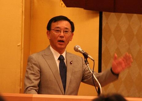 2012.7.21 安藤ひろし政経懇談会 谷垣総裁 a-1