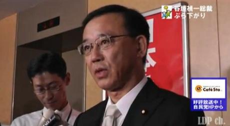谷垣総裁ぶらさがり(2012.9.21)