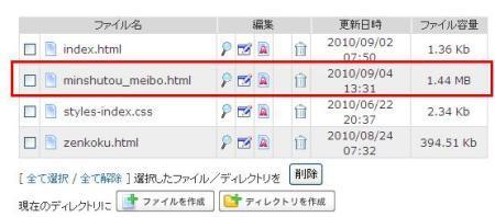 sakuraraボード-ファイルマネージャー