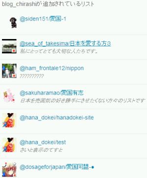 sakuraraボード-リスト画面2