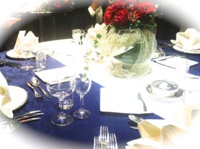 披露宴、テーブル