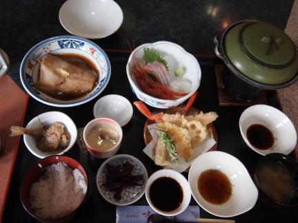 海鮮定食1500円