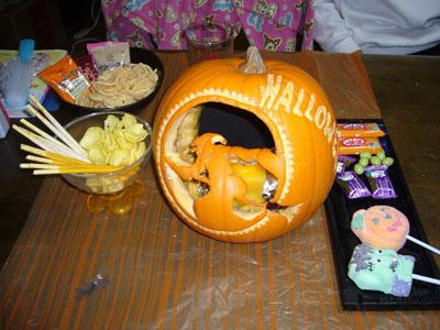 かぼちゃとお菓子