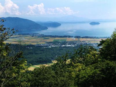 湖西から望む琵琶湖