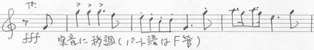 楽譜 Mahler Trumpet (1)
