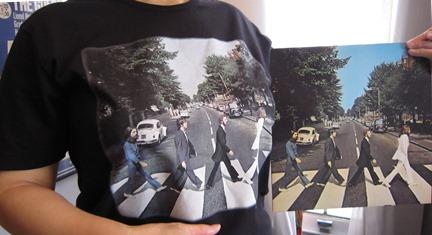 アビイロード Tシャツ!