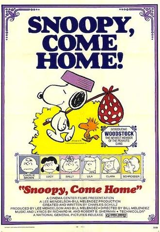 Snoopy Come Home_Original Poster