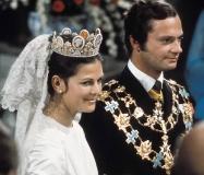 カール16世グスタフ国王、シルビア王妃との結婚式(1976年 6月19日 )