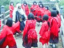 京の市中をスパイする 禿童(かむろ )NHK