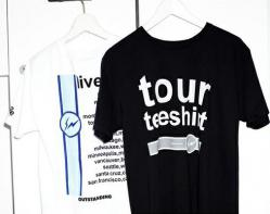 fragment design × PEEL&LIFT Tシャツ