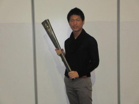 パラリンピックトーチと