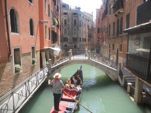 ヴェネツィアのゴンドラ