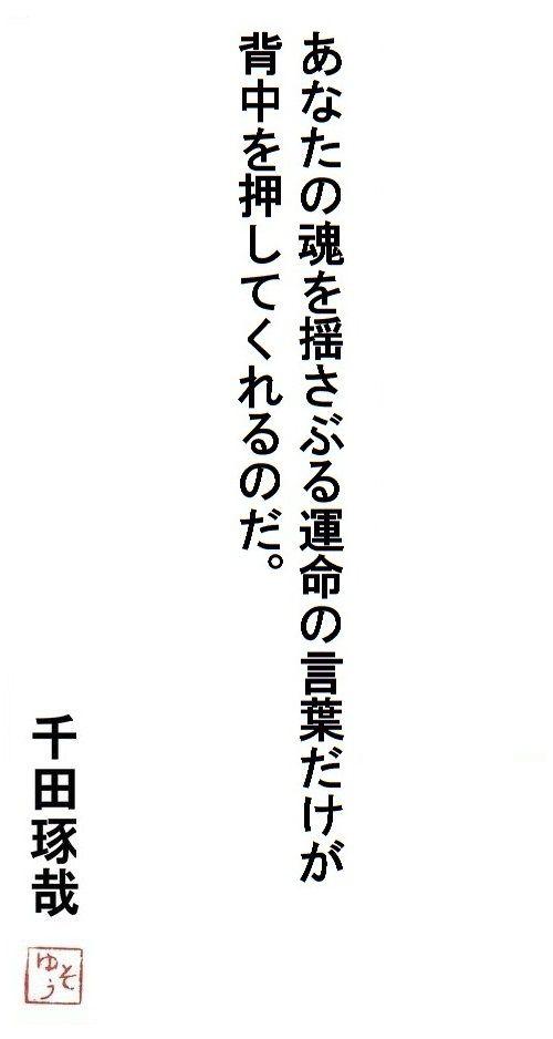 千田琢哉名言 76