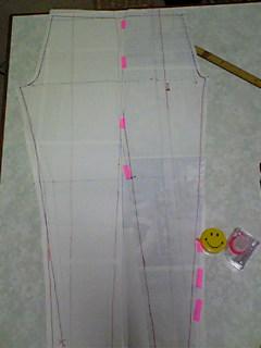 レギンス型紙2