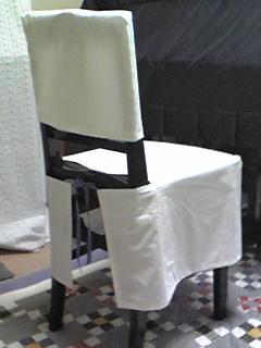 ピアノ椅子カバー(背もたれ付き)1