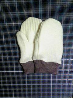セーターをリフォーム2