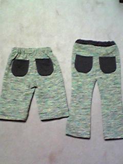 羽織→パンツ(90cm)2枚2