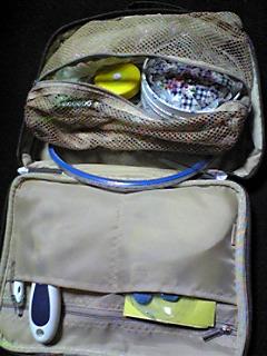 旅行バッグを裁縫バッグに2