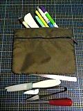 旅行バッグを裁縫バッグに3