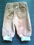 子どもパンツ(90cm)ピンクコール天2