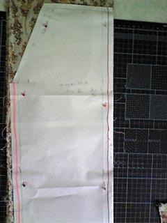 和服→ロールアップパンツ(赤系)2