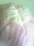 セーター(ピンク)→帽子2