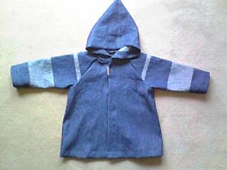 エプロンを子供服にリメイク3