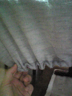 羽織をテーブルクロスにリメイク_3