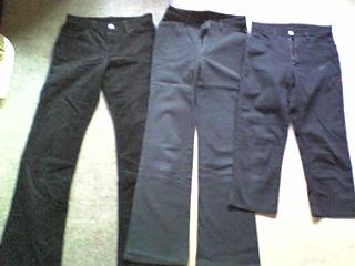 黒いパンツをリメイク_01