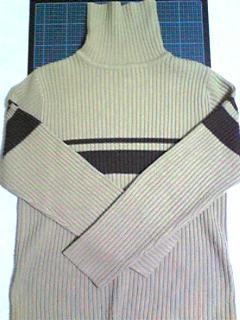 タートルセーターをクッションカバーに_01