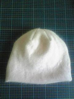 セーター(ピンク)→帽子