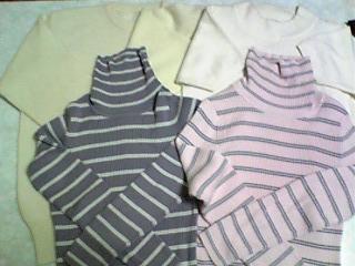 セーターをリメイク(初の受注)_01
