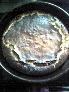 手作りチーズでチーズケーキ(091230)