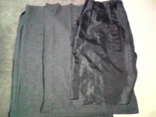 グレーのプリーツスカートをリメイク(091231)_02