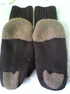 靴下を継いで履く4(100226)