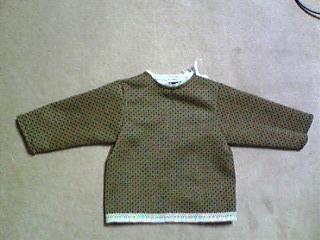 羽織→赤ちゃん服3