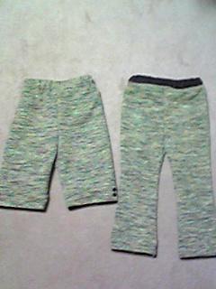 羽織→パンツ(90cm)2枚1