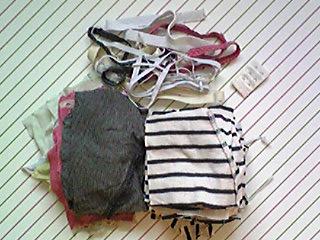101229_不要衣類の解体