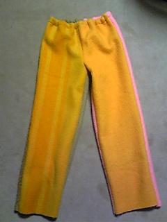 毛布パンツ1